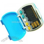 5 digit pedometer multiple function with step counter