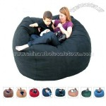 5-feet Earth Cozy Sac Bean Bag Chair Love Seat