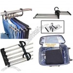 5 in 1 Magic Stainless Steel Trousers Rack, Clothes Hanger, Garment Rack