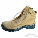 5-inch High Crazy Horse Leather Safety Shoes
