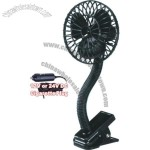 5 inch Mini Oscillating Auto Fan with Clip