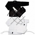 5 oz Ultra Lightweight Uniform - White/Black