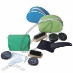 5-piece Shoe Shine Kit Sets for Different Kinds of Shoes