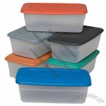 5.5 qt plastic shoe box