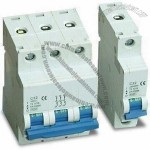 50 to 60Hz Miniature Circuit Breakers with Overload and Short-circuit Protection