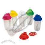 500ml/17oz Plastic Shaker Cup
