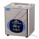 50W Ultrasonic Cleaner with Tank Size of 150 x 137 x 100mm