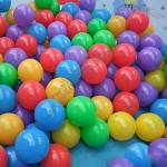 50pcs Colorful Pit Ball Tent Balls Pack