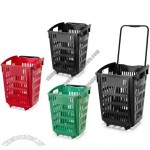 52 Litre Trolley Basket / Shopping Basket