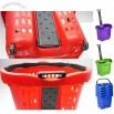 52L to 55L Rolling Shopping Basket