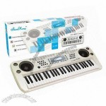 54 Keys Color Liquid Crystal Display (LCD) Teaching Instrument with Music Instruments