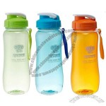 550ml Plastic Sports Water Bottle with Lanyard