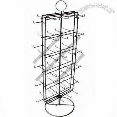 58-hook Rotatable Display Rack for Eyelash