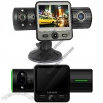 5MP Dual Lens Car DVR Car Black Box HD with G-Sensor and GPS drive route record