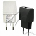 5V/1A Mini Mobile Phone Charger with CE/RoHS Marks