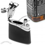 5oz Undercover Easy-Fill Hip Flask