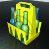 6 Beer Bottles Carriers