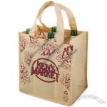 6 Bottle Wine Tote Bag