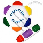 6 Color Crayo-CrazeCrayon Wheel