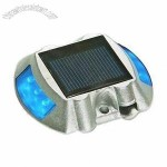 6 LEDs Floor Recessed Luminaire 2.5V/100mA Solar Road Stud with 1 x 1.2V/600mAh Ni-Cd Battery