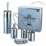 6 Pieces Stainless Steel Bathroom Set