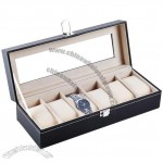 6 Slot Watch Storage & Display Box