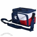 6-can Cooler Bag with White PEVA Lining