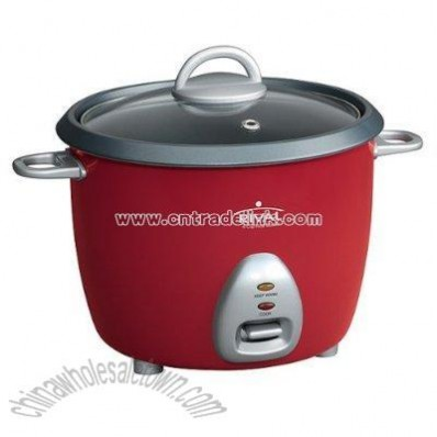 6-cup Rice Cooker - Red
