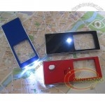 6 in 1 LED ultra-thin Card Magnifier with UV Light and Stylus