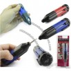 6 in 1 MultiFunction Screwdriver with LED Flashlight