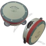 6-inch Colored Tambourine with 4 Bells