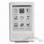 6-inch E-ink E-book Reader