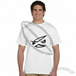 6.1oz Custom Printed Gildan Ultra White Cotton T-Shirts