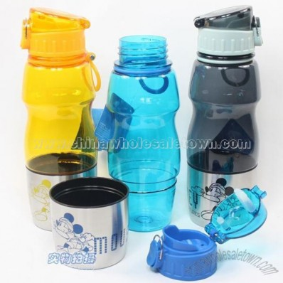 600 ml Disney plastic bottles