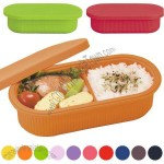 600cc Oval Silicone Lunch Box