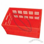 60L Foldable Plastic Crate