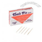 68 mm double pointed round hotel picks 24 packs of 800