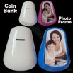 6inch Photo Frame Tumbler Money Coin Bank