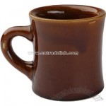 7 1/2 oz Caramel Colored Vic Mug