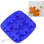 7-Cavities Jigsaw Puzzle Silicone Bake Ware Cake Mold Biscuit Mold