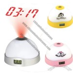 7 Color Projection Alarm Clock