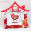 7-Inch House Shaped Couple Photo Frame
