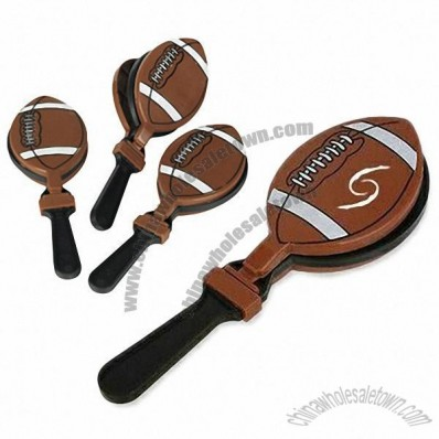 7 Inch Plastic Football Hand Clappers
