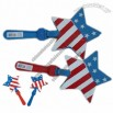 7 Inch US Flag Star Hand Clappers