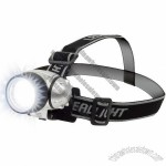 7 LED Adjustable Head-Lamp with Pivoting Light-Head