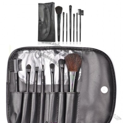 7 Pieces Makeup Brush Set Make up Cosmetic Tool and Black Case