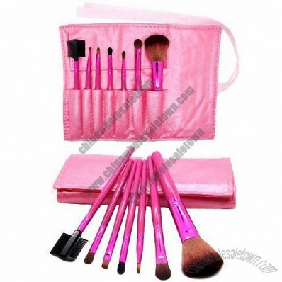 7 Pieces Travel Makeup Brushes