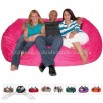 7-feet Xx-large Earth Cozy Sac Foof Bean Bag Chair Love Seat