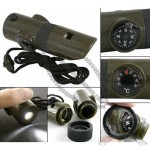 7 in 1 Multifunctional Whistle LED Thermometer Magnifier Compass