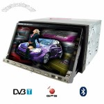 7-inch Car DVD Player with GPS + DVB-T (2-DIN) - Remote Control GPS navigation